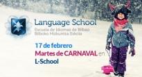 Martes de carnaval en L-School.